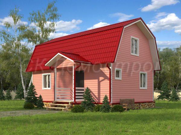 Каркасный дом 6х9 «Смирнов»