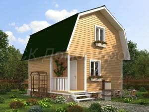 Дом «Олегов» 6х6 м