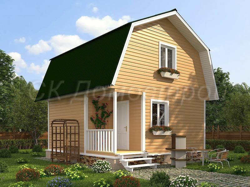 Строительство домов и бань из бруса под ключ проекты и