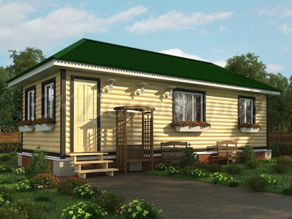 Дом из бруса «Воскресенск»