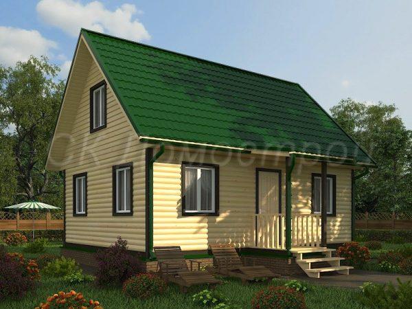 Дом из бруса «Всеволожск»