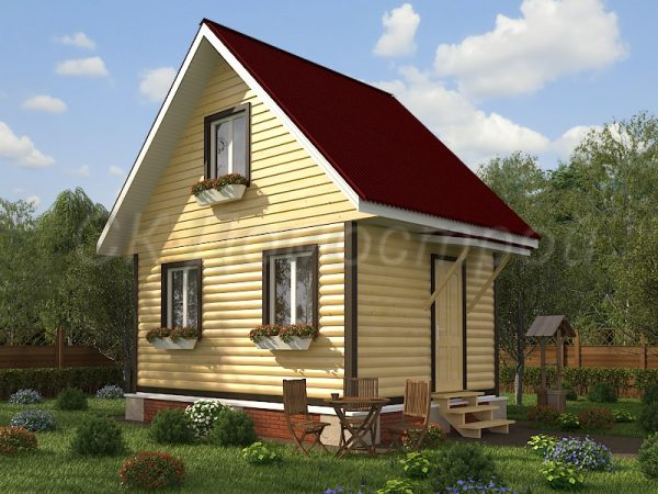 Дом из бруса «Чехов»