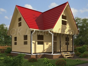 Проекты срубов домов из бруса