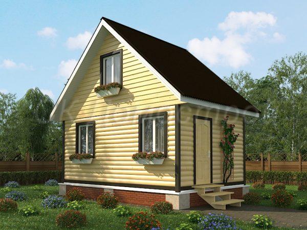Проект дома 4х6