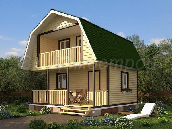 Дом из бруса «Смоленск»