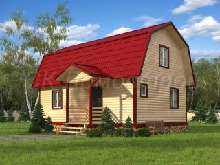 Дом из бруса 6х9