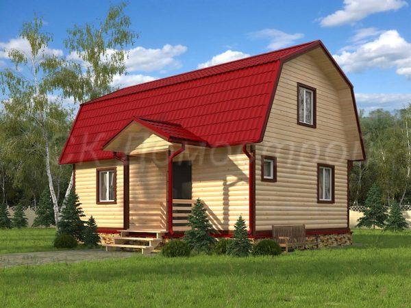 Дом из бруса «Сургут»