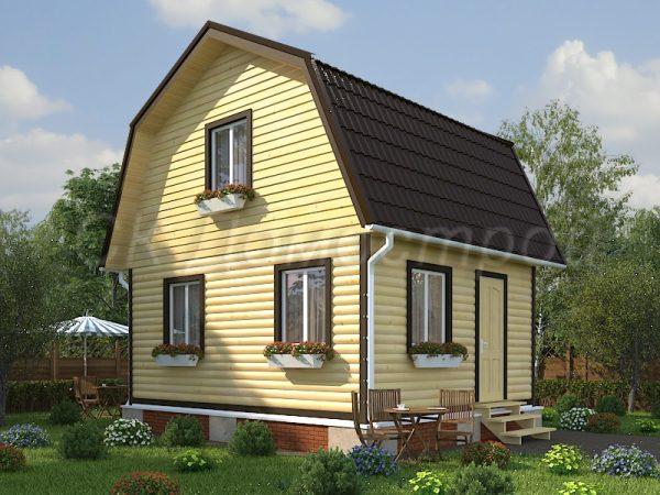 Дом из бруса «Талдом»