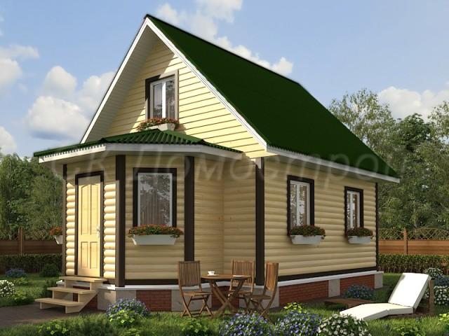 Дома из бруса в Тамбове
