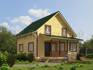 Брусовые дома для постоянного проживания