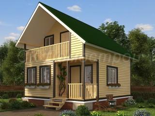 Купить дом из бруса в СПб