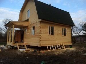 Дом из бруса 6х6 деревня Гребенево