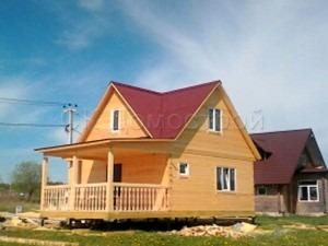 Дом из бруса 6х7 деревня Нежново