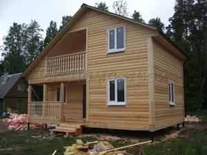 Дом из бруса в ленинградской области