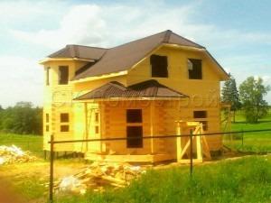 Дом под усадку 7х9 поселок Середа