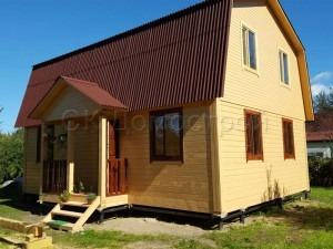 Дом из бруса 7х9 поселок Дунай