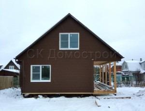 Дом каркасный для зимнего проживания