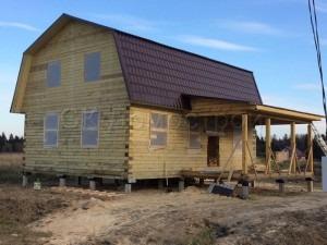 Строительство домов из сухого профилированного бруса