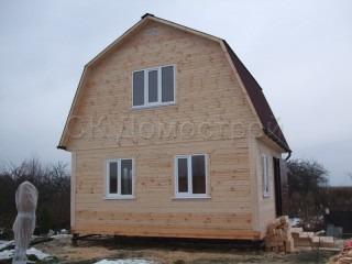 Дом из бруса с отделкой