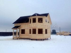 Сруб дома из Новгородской области