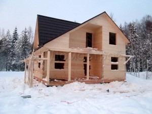 Дом под усадку 6х8 поселок Подгорное