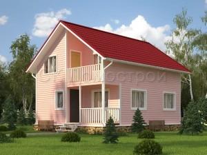 Дом «Георгиев» 7х8,5 м