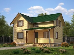 Дом из бруса Тула