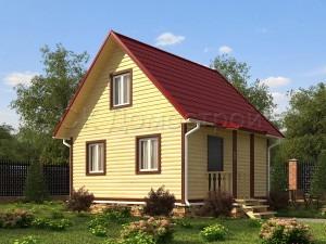 Дом из бруса «Балашиха»