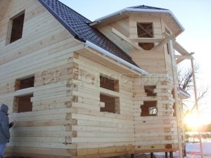 Дом под усадку 6х9 деревня Александрово