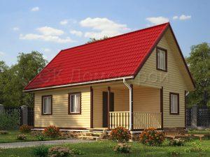 Дачный дом из профилированного бруса