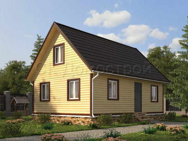 Дом из бруса «Шатура»