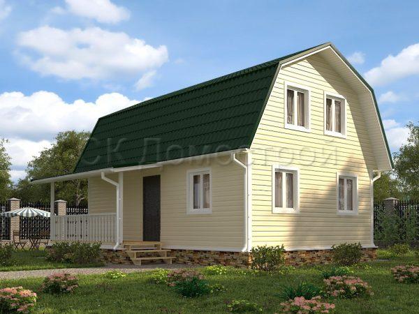 Каркасный дом 6х9 «Морозов»
