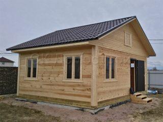 Дом из бруса под ключ в Новгородской области