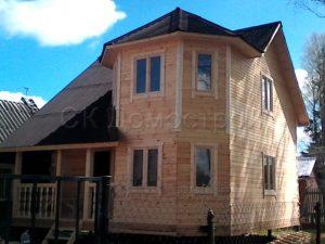 Строительство дома из бруса в Чехове
