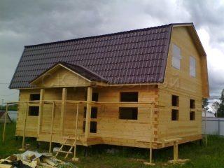 Строительство дома в Талдомском районе