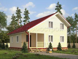 Каркасный дом 9х9