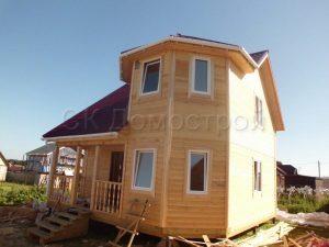 Дом из бруса в Тульской области