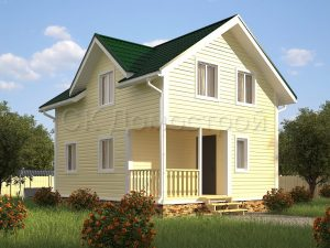 Каркасный дом с кукушкой