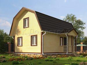 Дом из бруса «Москва»