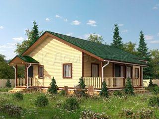 Дом из бруса Подольск