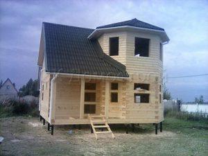 Сруб дома в Волоколамске