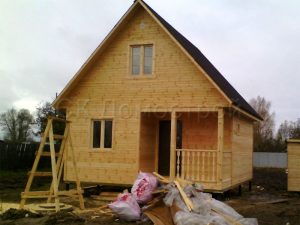 Каркасный дом в Ивановской области