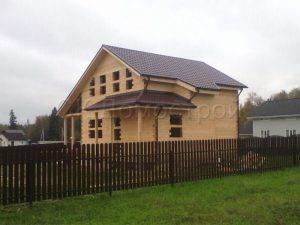 Дом под усадку 8х8 СНТ Ольшаны