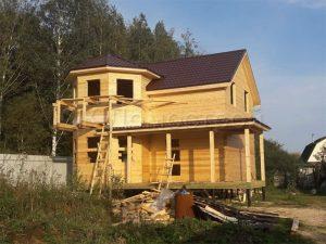 Сруб дома в Домодедовском районе