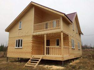 Дом из бруса в Озерском районе