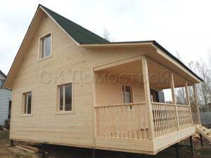 Каркасный дом во Владимире