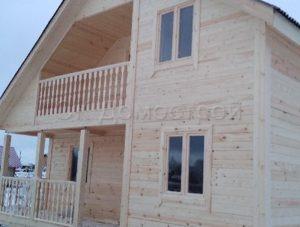 Дом из бруса в Вологодской области