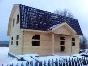 Сруб дома в Кировском районе