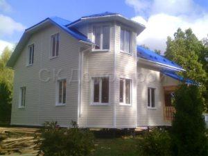 Каркасный дом 7х9 деревня Новоселки