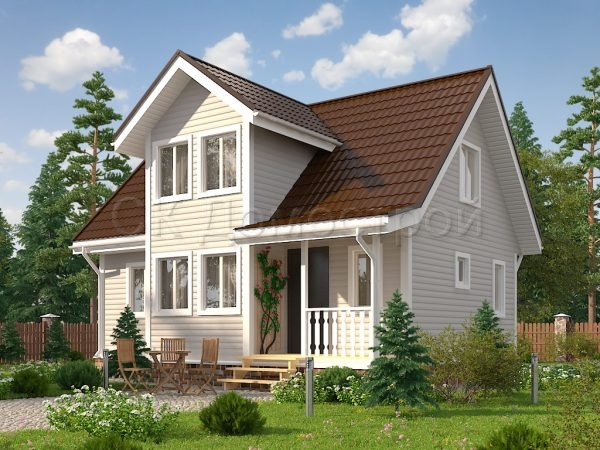 Дом по проекту Канцлер